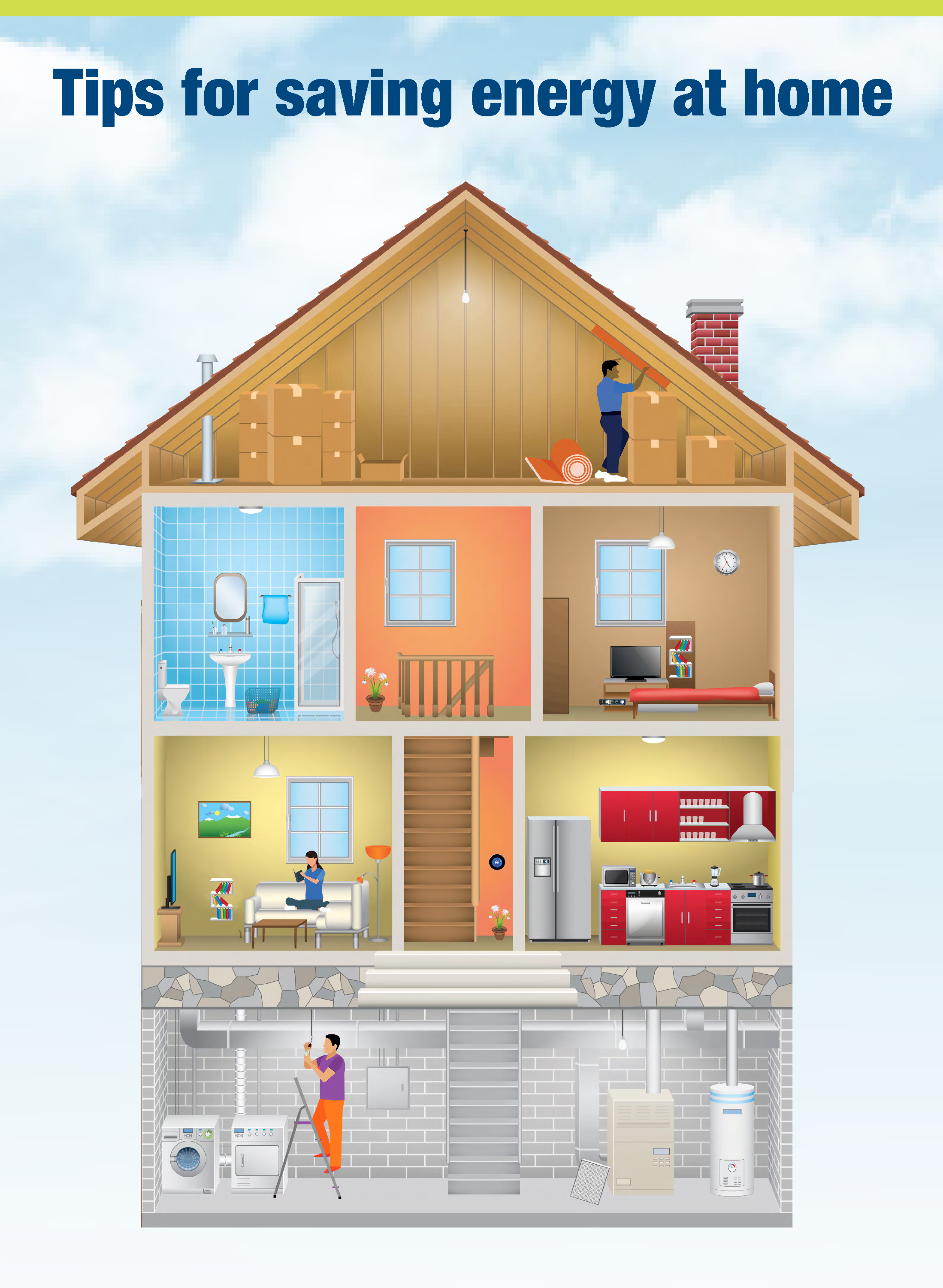 Tips for saving energy at home